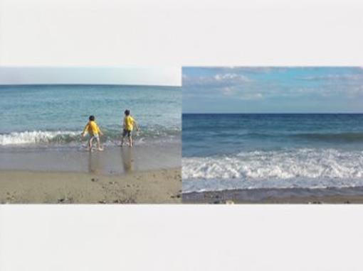 Un fotogramma tratto dal cortometraggio di Alessandra Caccia, Hibakusha, 2011