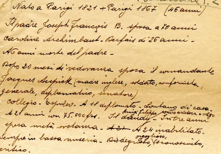 L'archivio Tullio Castellani
