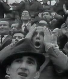 Fotogramma tratto dal cortometraggio di Franco Piavoli, Evasi, 1964