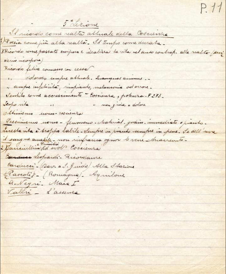 Manoscritto-Gruppo-archivi-Fondazione-Tullio-Castellani
